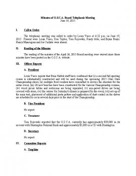 OSCA Minutes 6.19.15